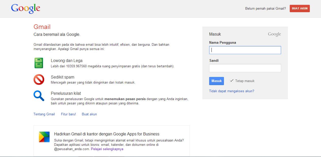 Cara Membuat Email Melalui Gmail | Fitri Resdiyani